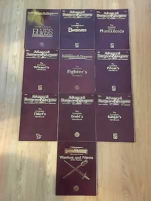 AD&D 2nd Edition Rules Supplements and Forgotten Realms Games Accessory