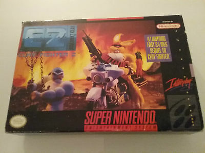 Snes Box Only Clay Fighter 2 C2 Judgment Clay Super Nintendo