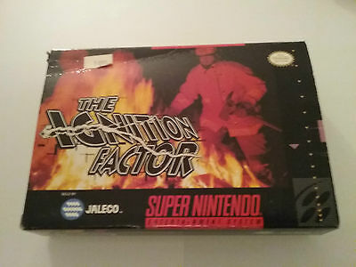 Snes Box Only The Ignition Factor Super Nintendo