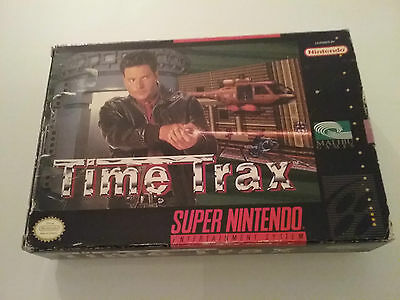 Snes Box Only Time Trax Super Nintendo