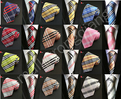 Fashion Classic Mens JACQUARD WOVEN Silk Tie Necktie Wedding Party best man gift