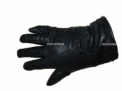 Ladies Genuine Real Leather Lined Gloves Driving Winter Warm Xmas Gift
