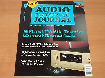 Audio & Flatscreen Journal 5/2016 Neuwertig