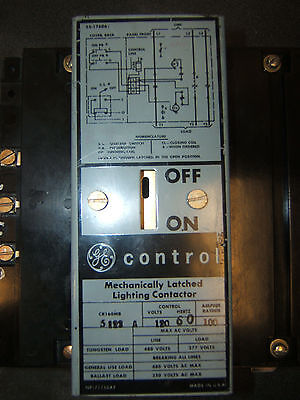 CR160MB 5122A Mechanically Latched Lighting Contactor Refurbished