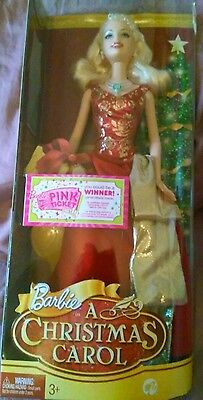 """Barbie holiday doll Eden Starling in A Christmas Carol - 12"""" mint in box, 2008"""