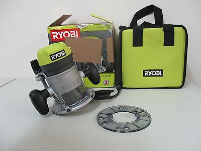 Ryobi 8.5-Amp Corded Fixed Base Router 1-1/2 Peak HP TOOL ONLY! (R163GK) TESTED