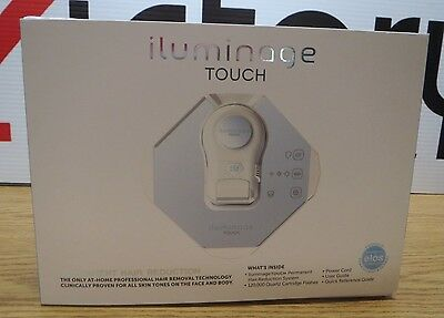 New Iluminage Beauty Touch Permanent Hair Reduction System V445