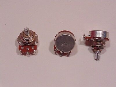 True Custom Shop 3Pk US 250K Split Shaft Pot Potentiometer Made for Us By CTS