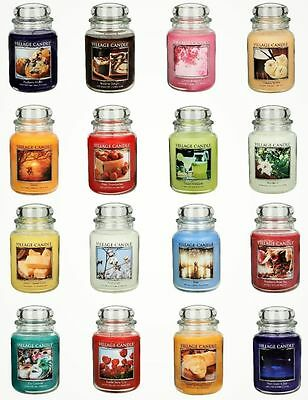 Village Candle - DOUBLE WICK LARGE JAR CANDLE (26oz) - 38 Choice Of Scents