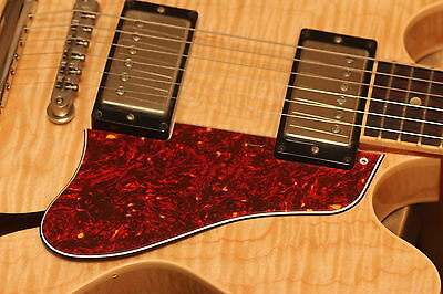 Pickguard ES-335 Short Red Tortoise fits Gibson* 1999-2008 Historic Coll.