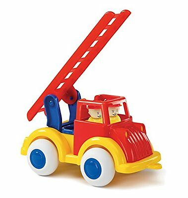 "Viking Large Primary Color Fire Truck - 10"" Vehicle with 2 Removable Figures - D"