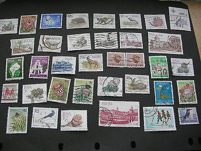 Selection of stamps from South Africa -used and maybe hinged