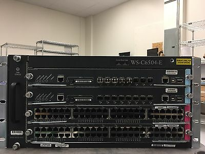 Cisco Systems WS-C6504-E Chassis