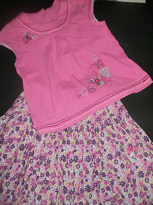 Skirt and top bundle/outfit, age 3-4 years