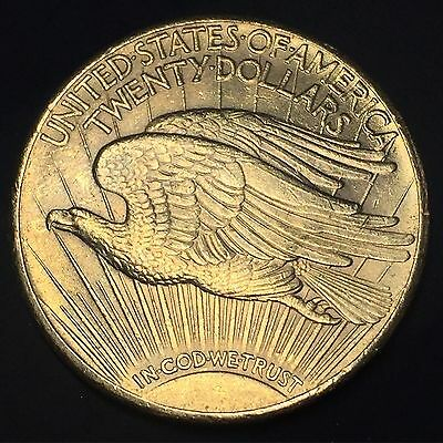 1927 St Gaudens Double Eagle USA Gold $20 Coin - Amazing Grade