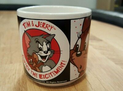 Vintage 1994 Tom and Jerry Small Mug, Cup, Turner Entertainment - GC
