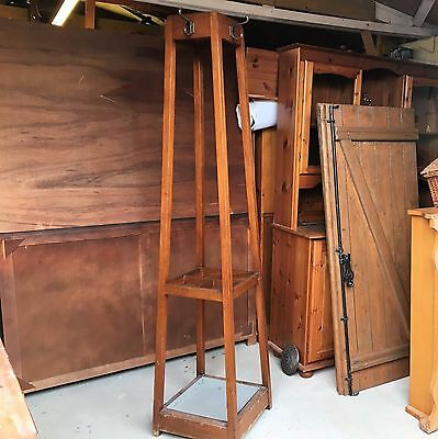 Edwardian Coat & Hat Stand with Stick Stand and drip tray