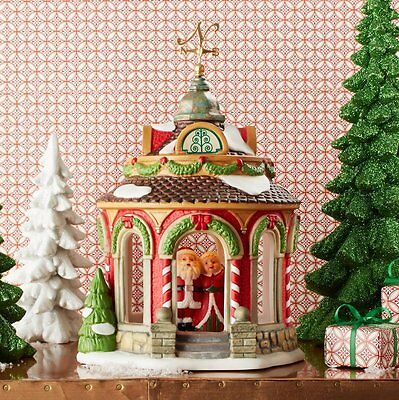 Department 56 North Pole Lighted Gazebo - New for 2016