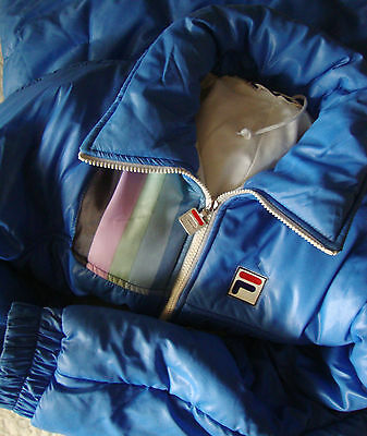 JACKET  vintage 80's FILA TG.42  circa S/M made in Italy   RARE