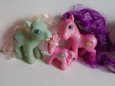 G3 Pony Lot My Little Pony Lot #1 Ponies Minty and Others