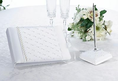 Lillian Rose White Pearl Guestbook- 1/2 Off!