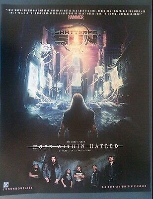 Music Poster Promo Shattered Sun ~ Hope Within Hatred