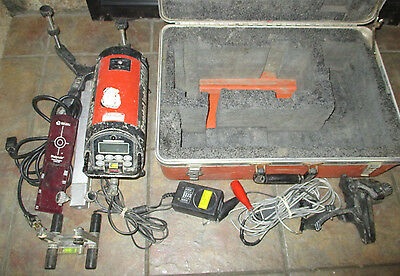 AGL Gradelight # 2500 Pipe Laser With Accessories and Case