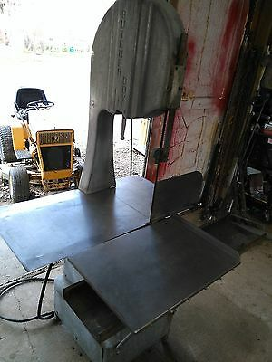 Butcher Boy B-16 Commercial Meat Band Saw, Vintage, Works, Heavy Duty, 220 VAC