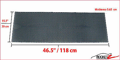 Universal Abs Honeycomb Hex Bumper Mesh Grill Grille (Fast Shipping Canada)