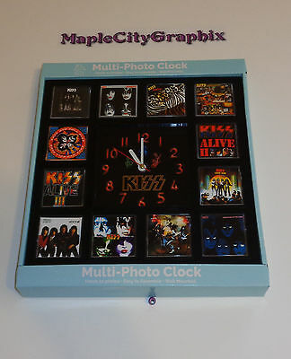 Kiss Music Rock Band Novelty Wall Clock