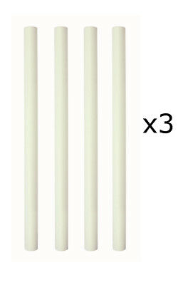 "3 x PME 4pk 12.5"" Pillar Wedding Cake Tier Tiered Rod Support Dowel Decoration"