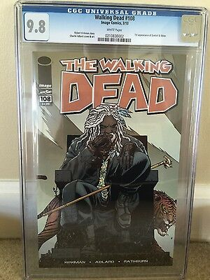 walking dead 108 cgc 9.8 white pages