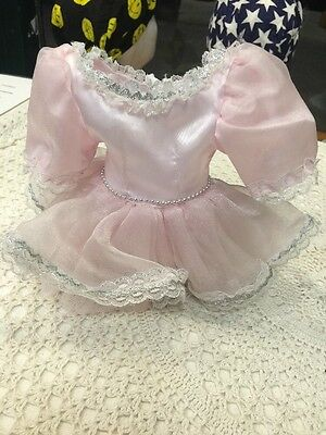 Ballerina Dress Doll Pink Lace
