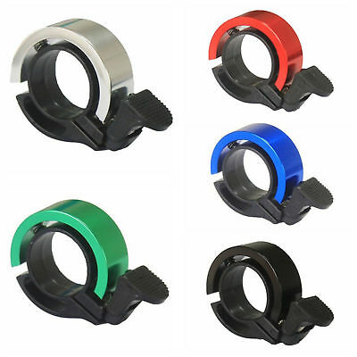 Bike Bicycle Invisible Bell Aluminum Alloy Loud Sound Handlebar Safety Horn