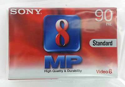 Sony 8mm blank 90 min Video Cassette Tape P5-90MP3 | HIGH QUALITY | BRAND NEW
