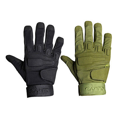 Santo One Pair Outdoor Tactical Lightweight Full Finger Spandex Gloves F2