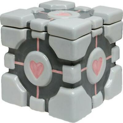 Think Geek Portal - Companion Cube Ceramic Cookie Jar Free Shipping!