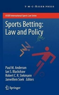 Sports Betting: Law and Policy by Hardcover Book (English)