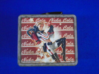 NUKA WORLD COLA TIN TOTE LUNCHBOX Fallout 4 Brand New IN STOCK & SHIPPING NOW!!