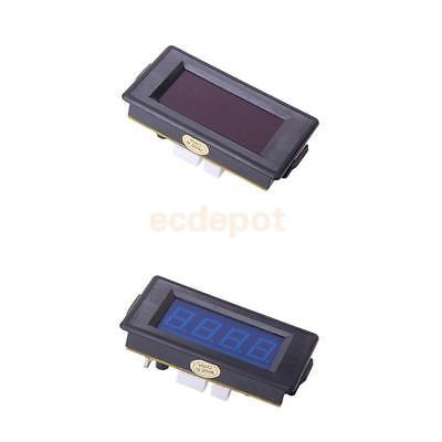 2pcs Red Blue LED Display Digital Counter Module 9999 Timer High-speed IC