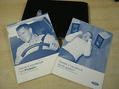 Ford Fusion  Handbook Pack 2003-2008 Owners Manual Inc Audio And Wallet