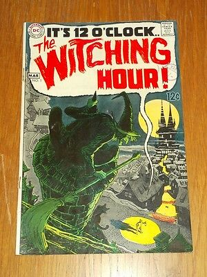 Witching Hour #1 Fn (6.0) Dc Comics March 1969