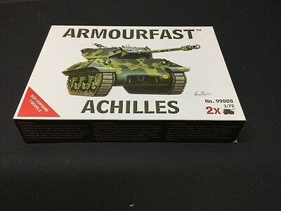 Armourfast 1/72 Allied Achilles. Ww2 Model Kit  New. 2 Kits In Box