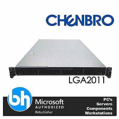 Chenbro RM13704 1U 2x Xeon Eight Core E5-2650 64GB RAM LGA2011 10GB SFP+ Server