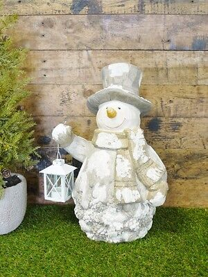 Snowman Ornament For Indoor Or Outdoor Christmas Decoration