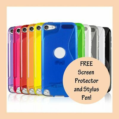 Gel Silicone S Curve Case Cover for Apple iPod Touch 6th 6 5th 5 Gen Generation