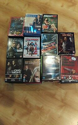 Job lot of 112 new & used dvds