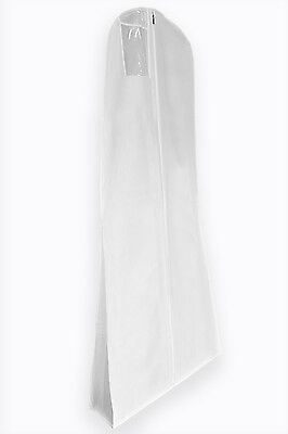 Wedding Bridal Dress & Ball Gown Breathable Protective Cover Bag with Pole