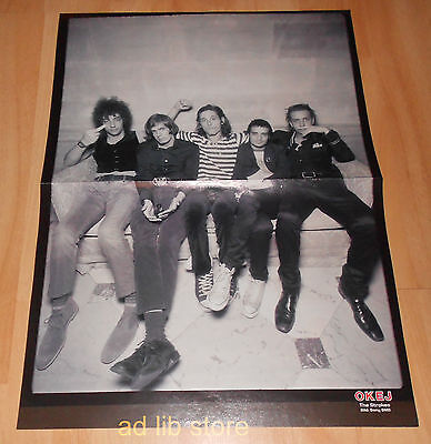 The Strokes, Simple Plan - Fold-Out From Magazine Poster