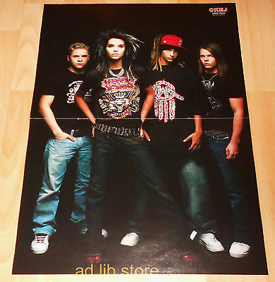 Tokio Hotel, Nightwish, Neverstore- Fold-Out From Magazine Poster